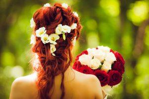 Sposa acconciata, sposa fortunata!